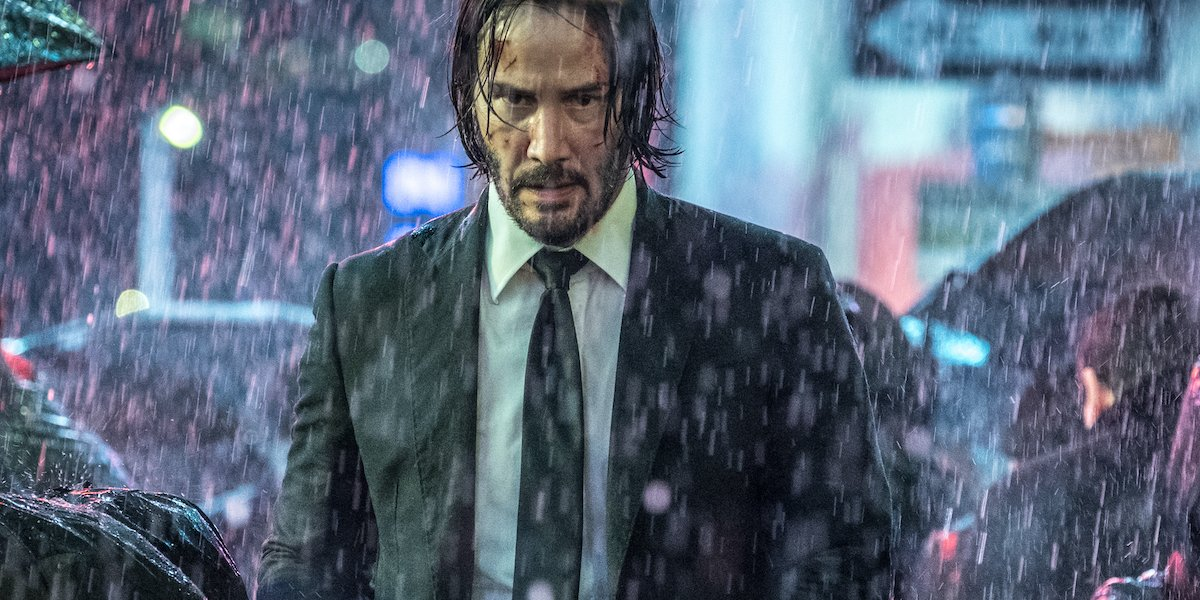 Keanu Reeves in John Wick 3 Parabellum