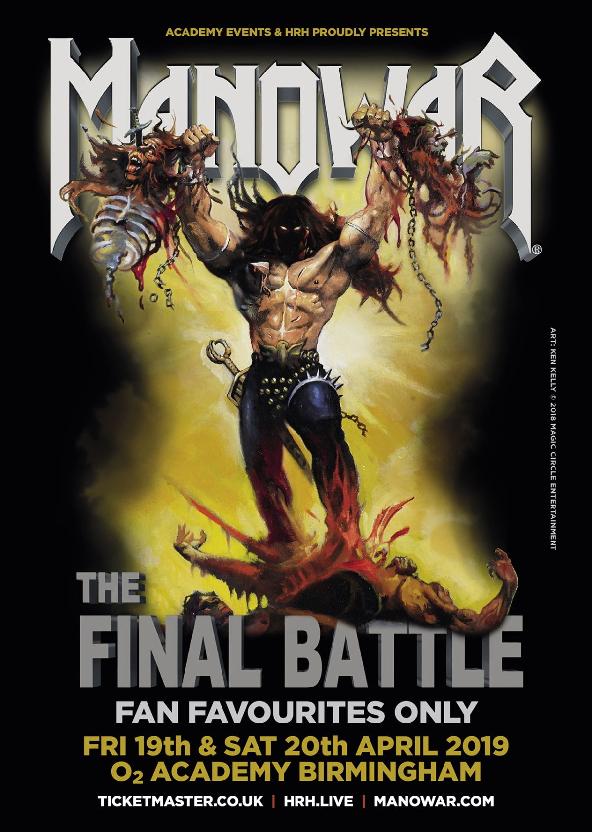 Manowar announce The Final Battle UK shows | Louder