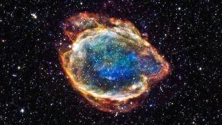 Photo d'une supernova