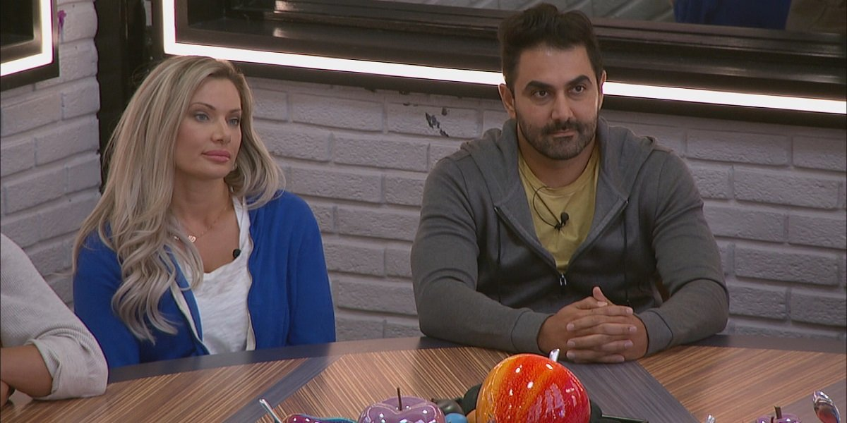 Janelle Pierzina Kaysar Ridha Big Brother All-Stars CBS
