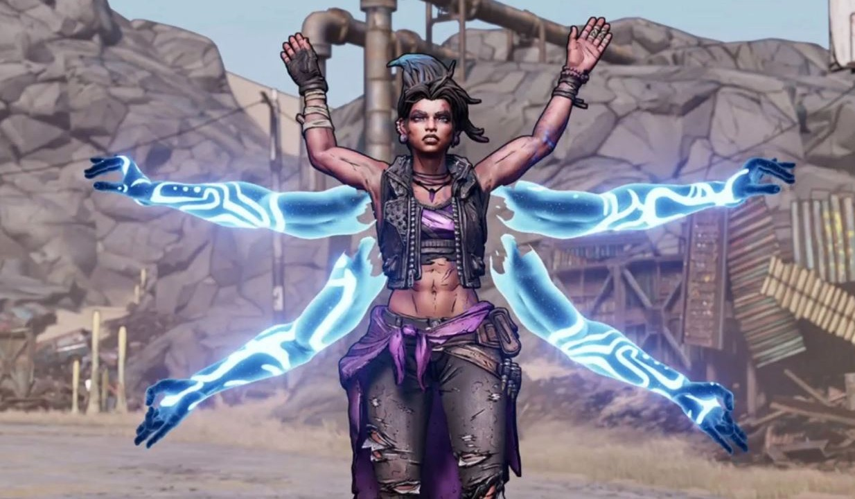Borderlands 3's Siren Amara is ready to fight everyone in her new