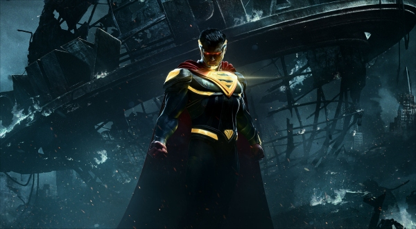 Superman armored up in Injustice 2