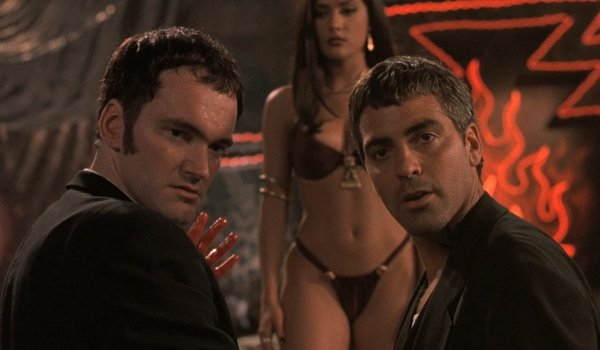 From Dusk Till Dawn Quentin Tarantino Salma Hayek and George Clooney