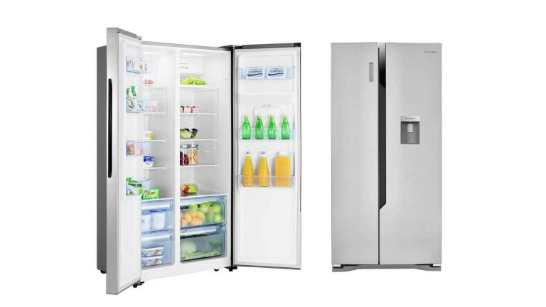 American style fridge freezer: Fridgemaster MS91515DFF