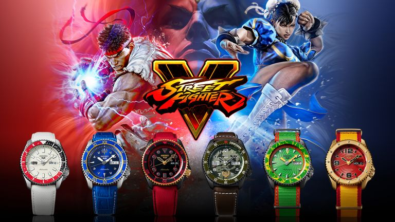 Seiko x Street Fighter Watch