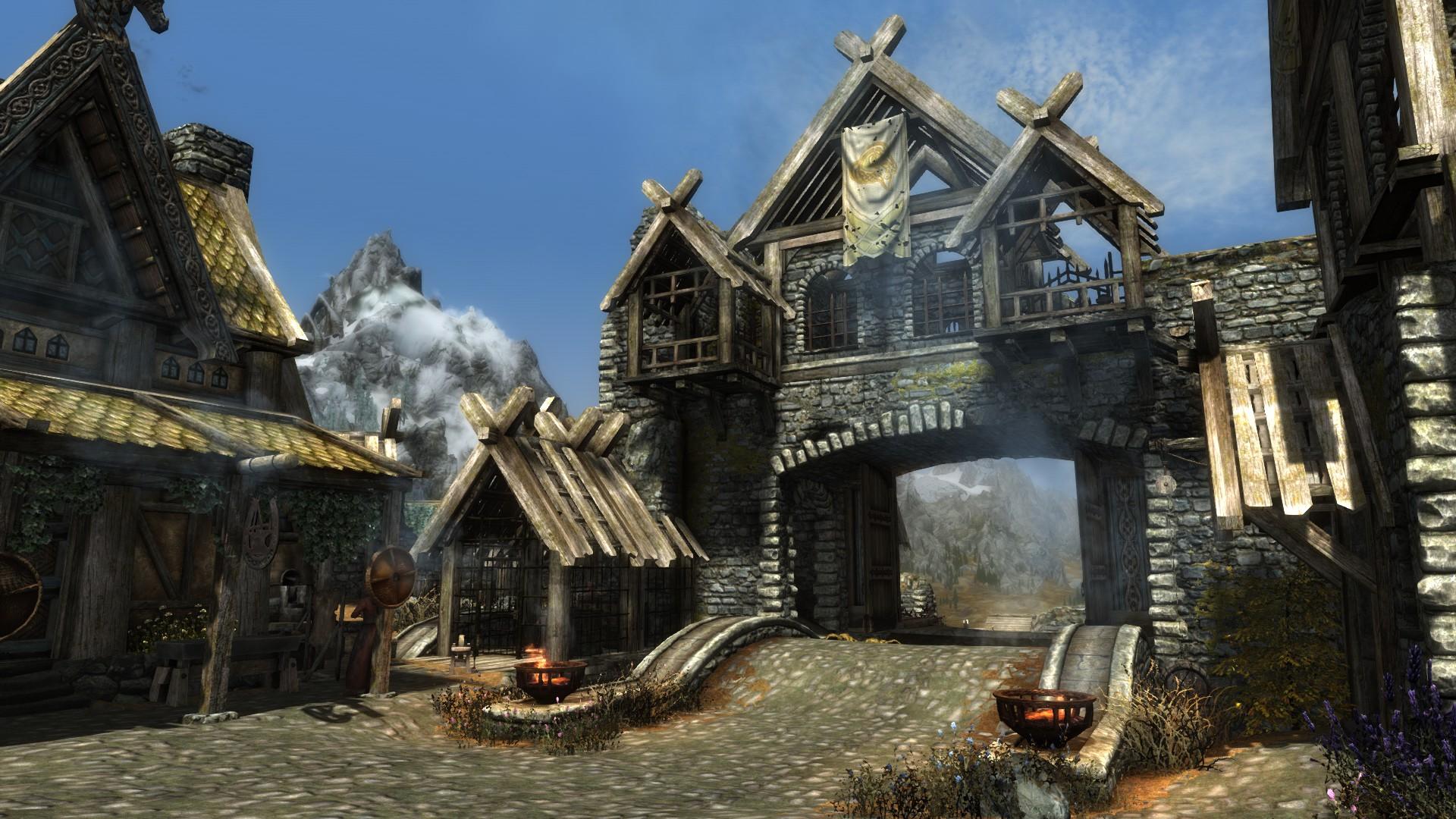 This would-be Jarl is rebuilding Skyrim's Whiterun in Valheim