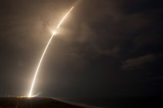 A rocket launch from Florida
