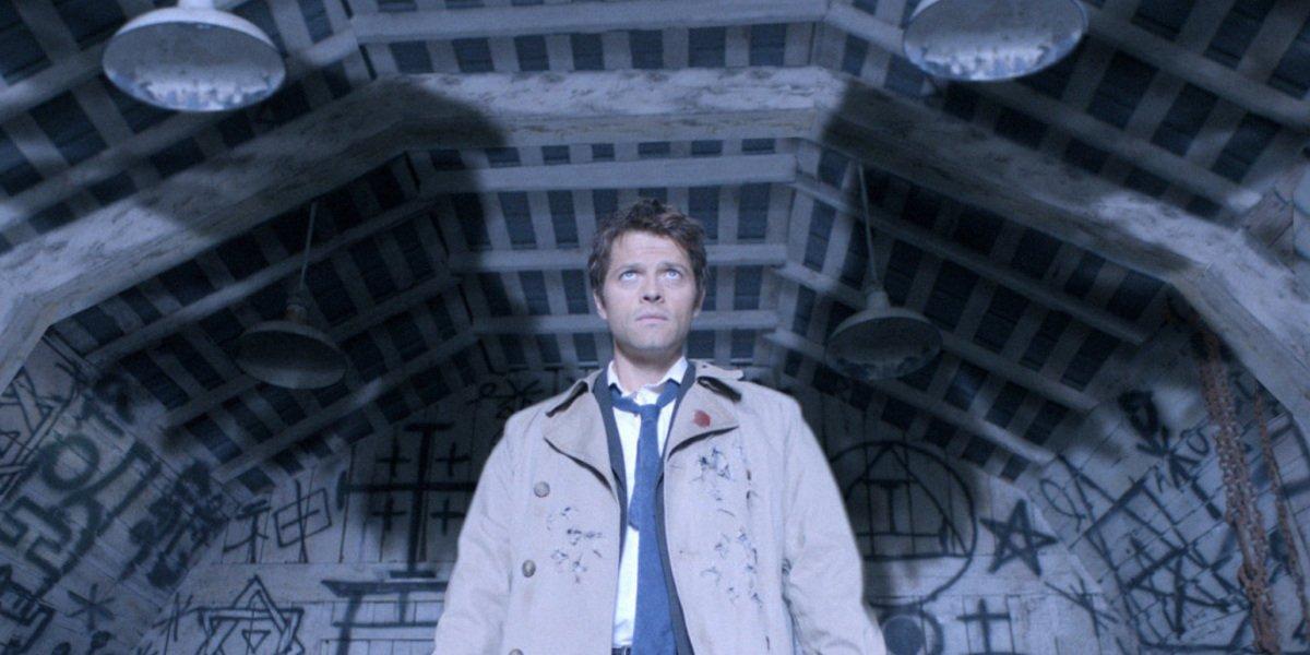 supernatural season 4 premiere lazarus rising castiel entrance misha collins the cw