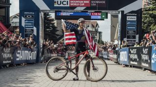 Christopher Blevins wins the Snowshoe World Cup XCO