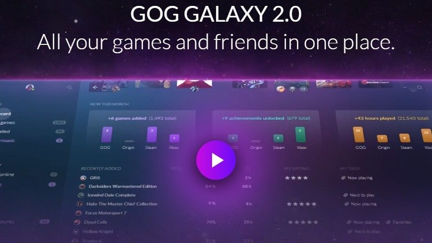 Have multiple PC game subscriptions? The GOG Galaxy 2.0 beta could be a game-changer