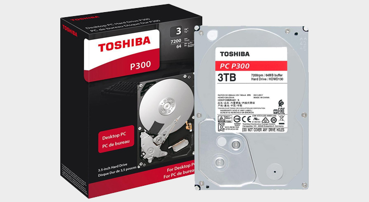 Add 3TB of storage to your system for only $65