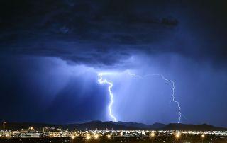 Lightning Strikes Las Vegas