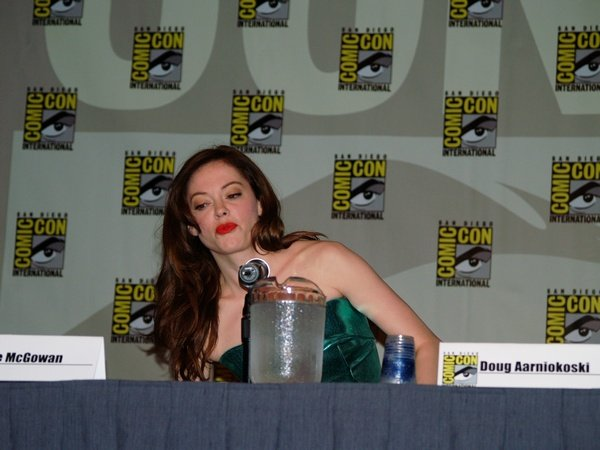 Comic Con: Red Sonja Panel In Detail #137