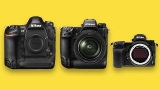 The Nikon Z9 DWARFS the Nikon Z7 – but is smaller than the Nikon D6