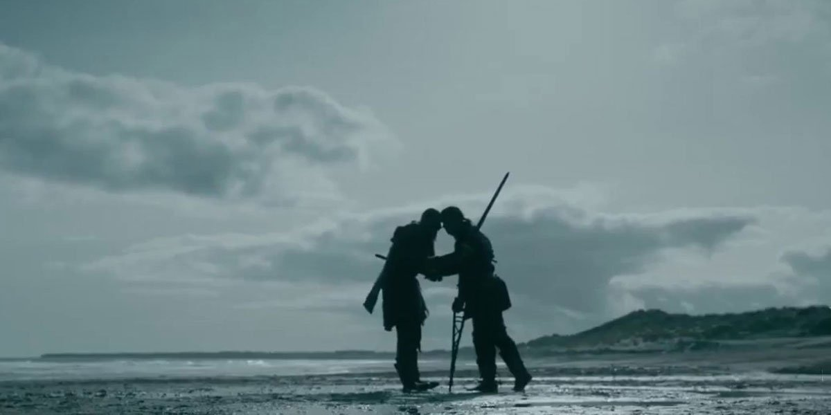 Ivar stabs Bjorn in Vikings Season 6