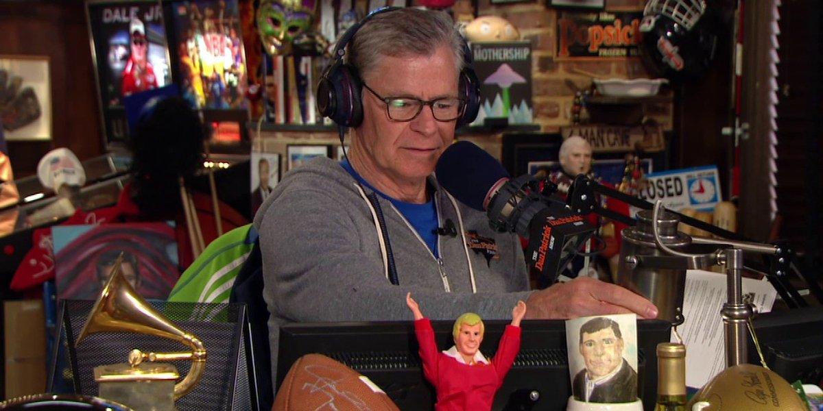Dan Patrick on the Dan Patrick Show