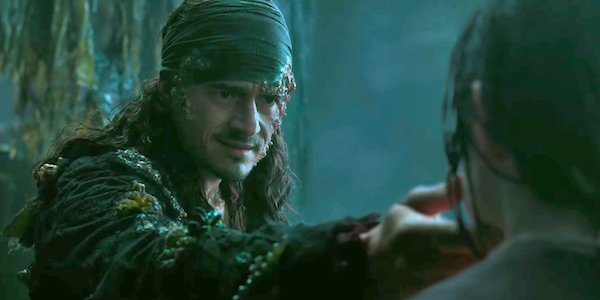 Will Turner in Pirates of the Caribbean 5
