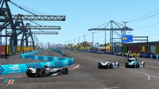 The ABB Formula-E Race at Home Challenge calls on rFactor 2 for the hard work.