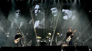 Soundgarden onstage at the Chris Cornell tribute concert