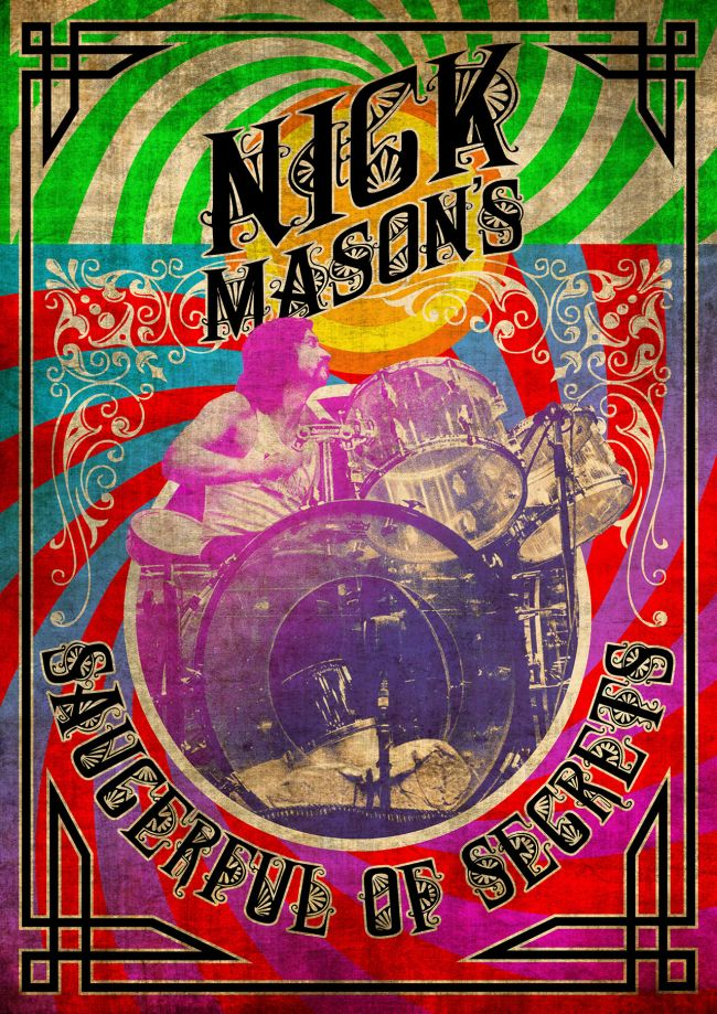 nick mason, saucerful of secrets