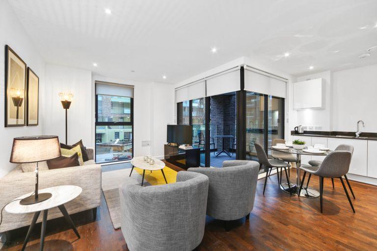 JLL built to rent development in Greenwich, London