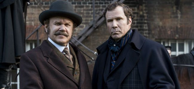John C. Reilly and Will Ferrell as Watson and Holmes in Etan Cohen's Holmes and Watson
