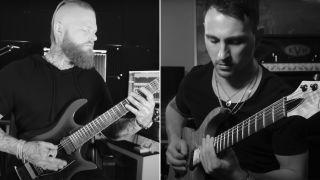 [L-R] Lee McKinney and Nick Rossi of Born Of Osiris