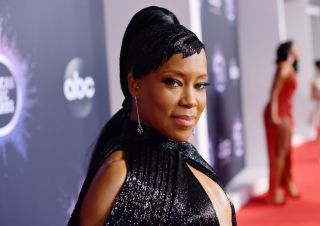 Regina King on the red carpet at the American Music Awards.