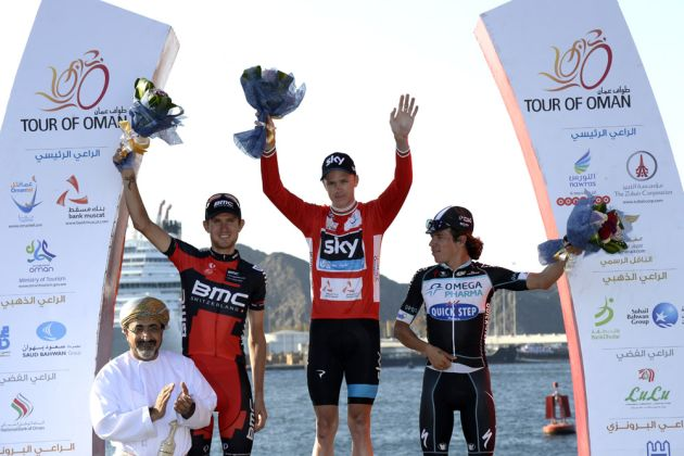 Chris Froome on stage six of the 2014 Tour of Oman