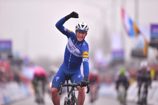 Yves Lampaert (Quick-Step Floors) wins Dwars door Vlaanderen