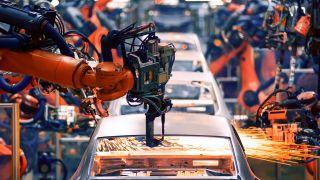 Auto assembly robot