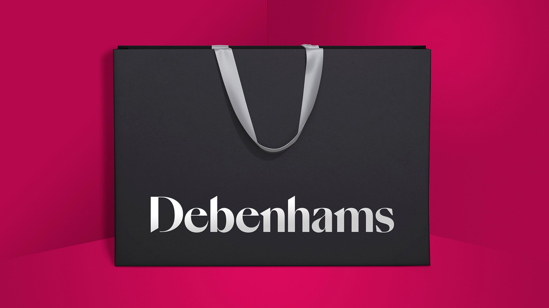 debenhams branded bag