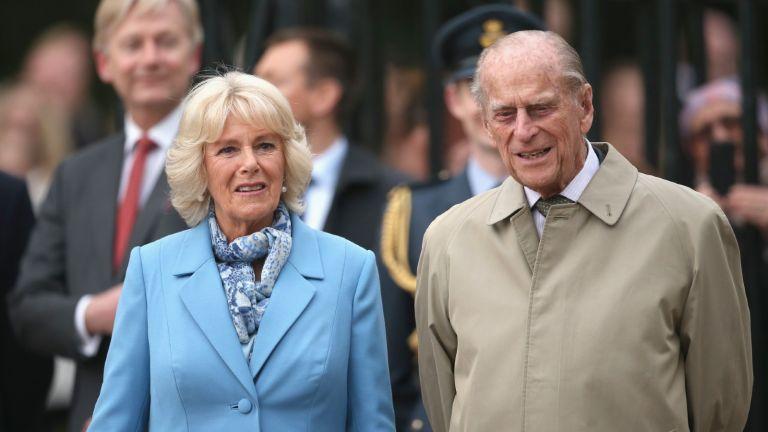 Duchess Camilla and Prince Philip
