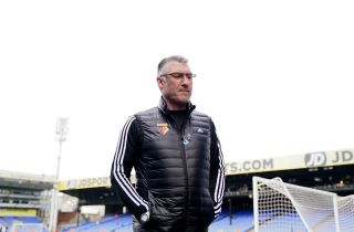 Nigel Pearson will be hoping to steer Watford to Premier League survival as the competition resumes.