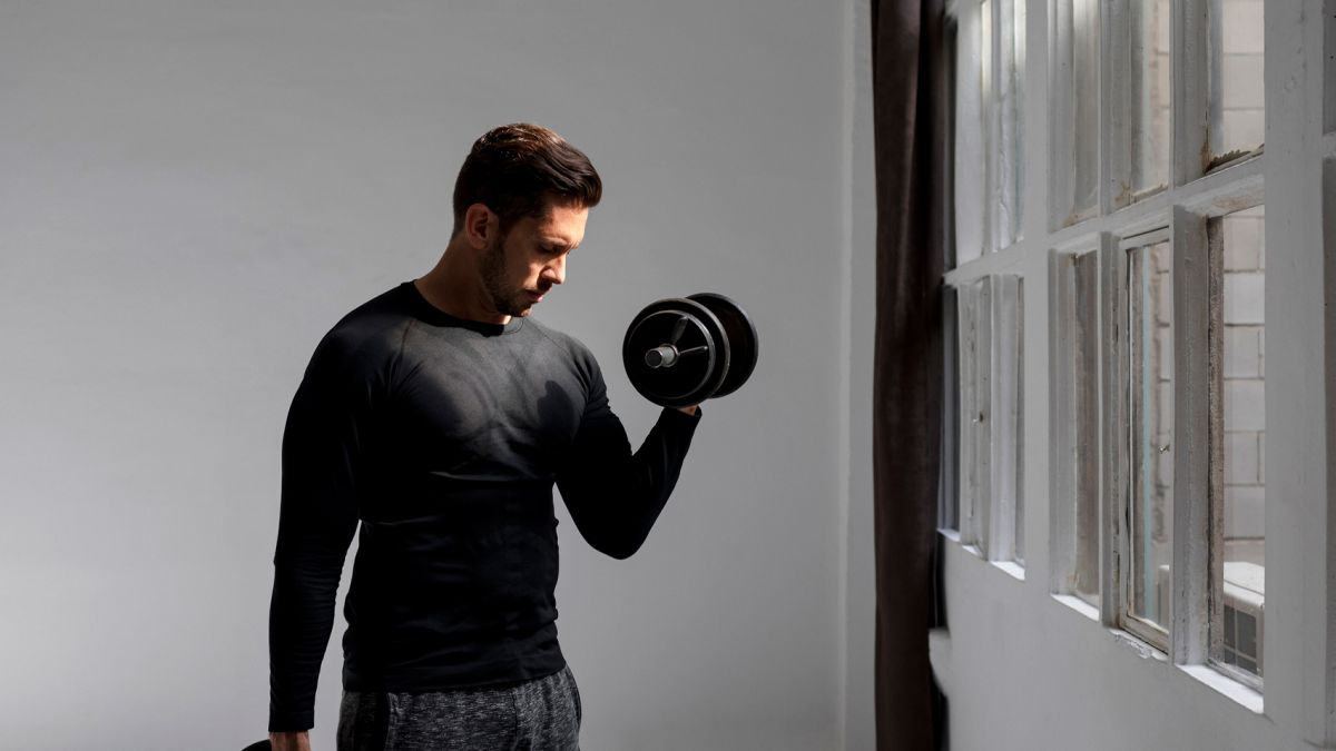 Dumbbell workout: The 30-minute circuit to burn fat while toning your abs & arms