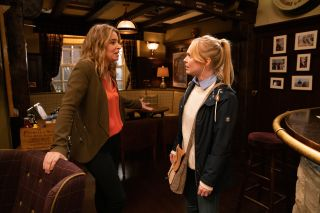 Vanessa ends her relationship with Charity Dingle in Emmerdale