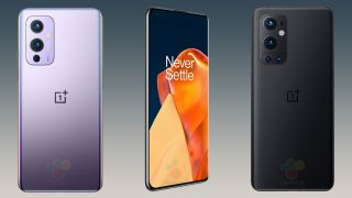 OnePlus 9 and OnePlus 9 Pro alleged leaked official renders