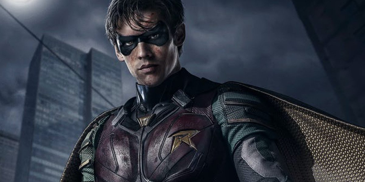 Robin in Titans on DC