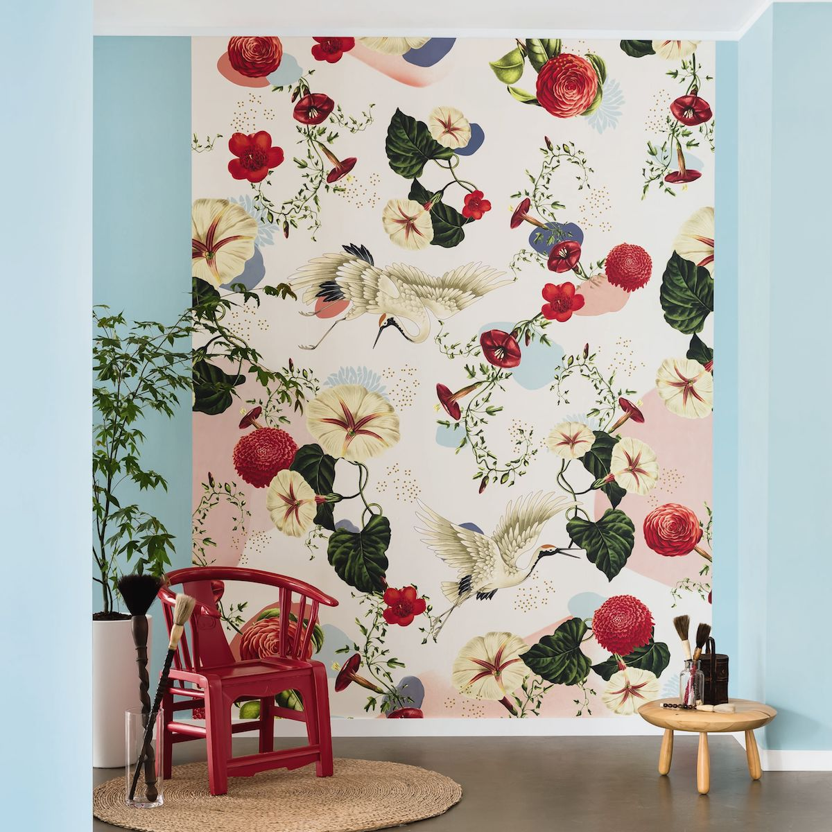Tropical Birds Are The New Decorating Trend Coming To A Wall