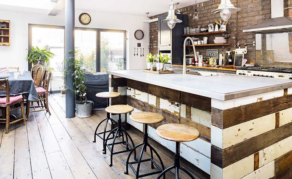 captivating industrial style home design | Real home: an industrial-style renovation of a Victorian ...