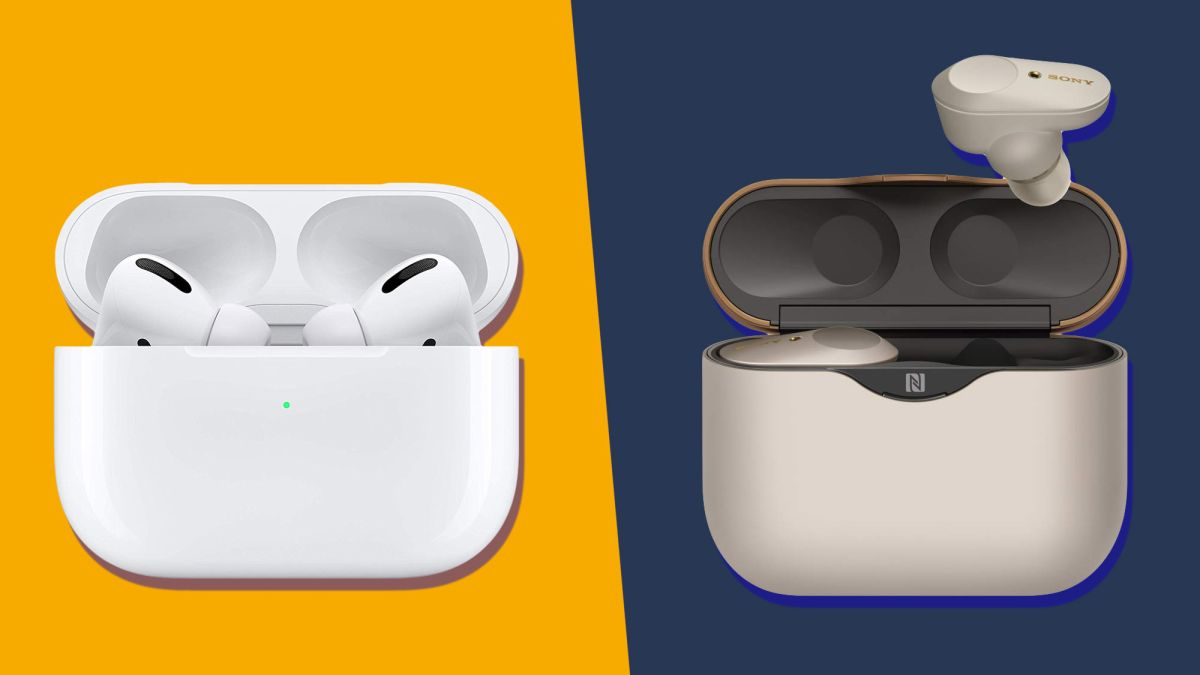 Apple Airpods Pro Vs Sony Wf 1000xm3 Which Buds Are Best Techradar
