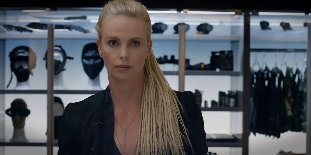 Charlize Theron Cipher in Fate of the Furious