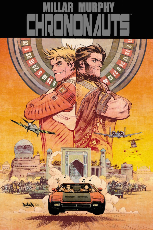 Chrononauts comic movie