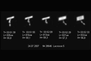 U.S. Spysat Lacrosse 5