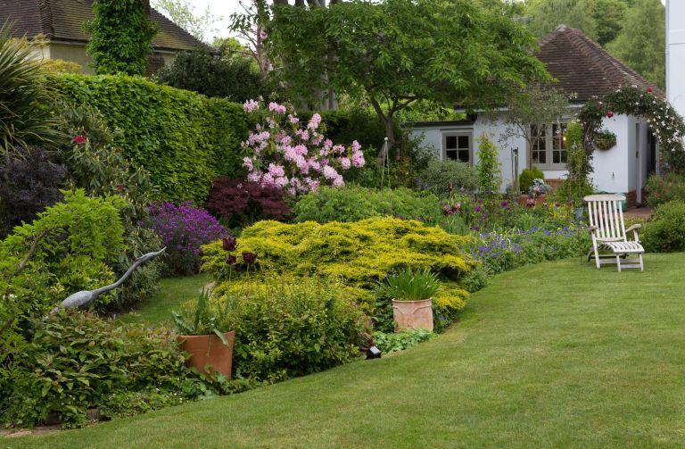 gardening building in a garden