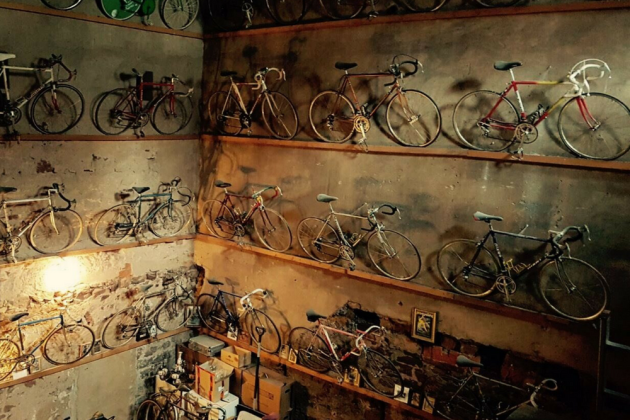 if your new years resolution was to buy a huge collection of vintage bikes and frames with which to fill your garage then youre in luck