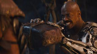 """Mechad Brooks as Jax in """"Mortal Kombat."""""""