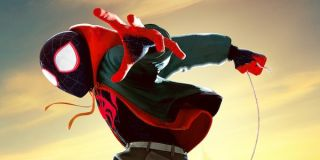 Masked Miles Morales in Spider-Man: Into the Spider-Verse