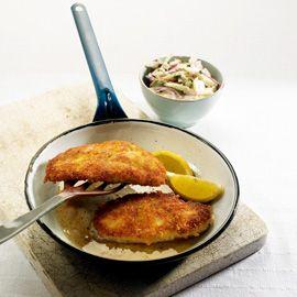 Herby Chicken Schnitzel