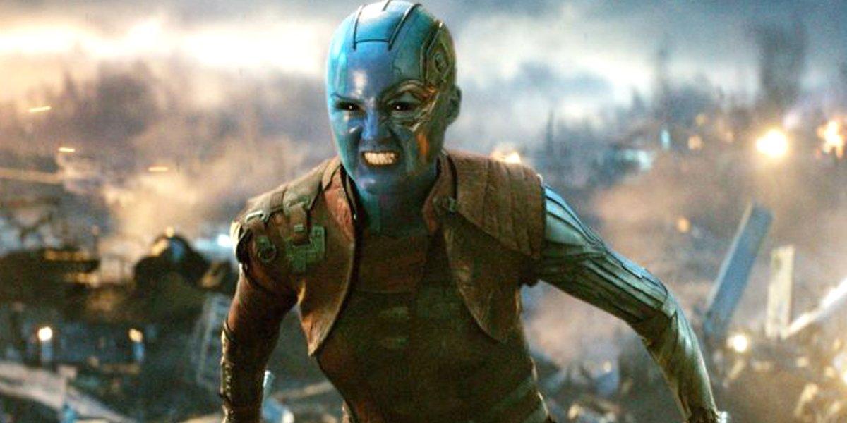 Nebula angry in Avengers: Endgame Marvel Studios MCU